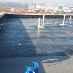 hydroizolačný podklad plochej strechy