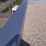 štrk predlžuje životnosť plochej strechy