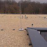 súkromná nemocnica nutne potrebovala opraviť zatekajúcu strechu